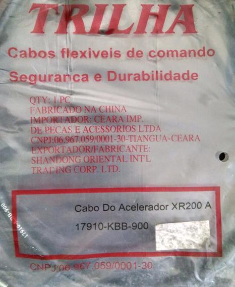 Cabo Acelerador Xr200 A - Trilha