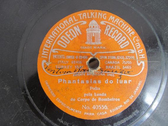 78 Rpm Odeon Record Casa Edison Banda Corpo Bombeiros Nair