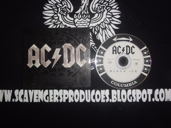 Cd Usado Digipack Ac/dc - Black Ice
