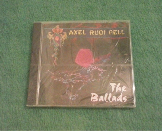 Cd Axel Rudi Pell (the Ballads) Allen Lande,edguy,steeler