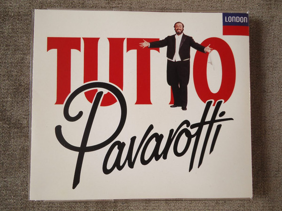 Pavarotti - Tutto Pavarotti - Box 02 Discos - Cd