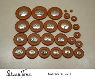Zapatillas Silvertone Saxofon Tenor Slzp005 +