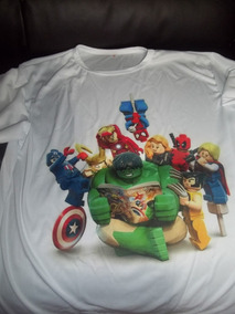 Playera De Super Heroes