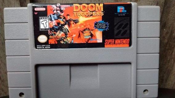 Doom Troopers Para O Snes