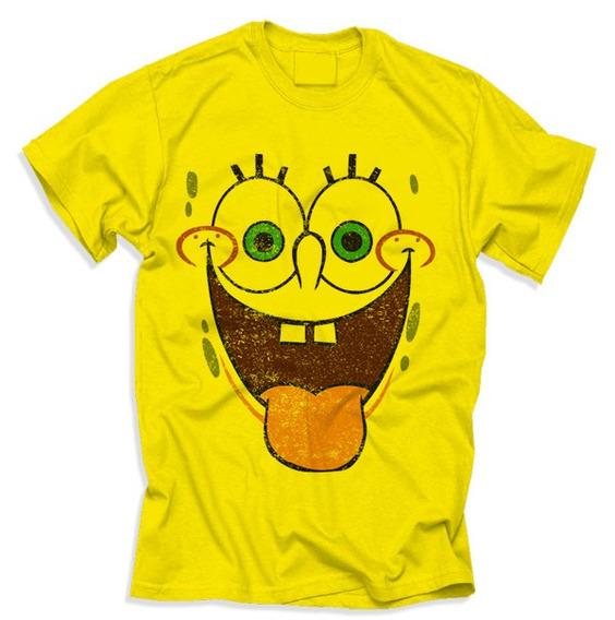 Camiseta Bob Esponja - T-shirt #camisadecrente