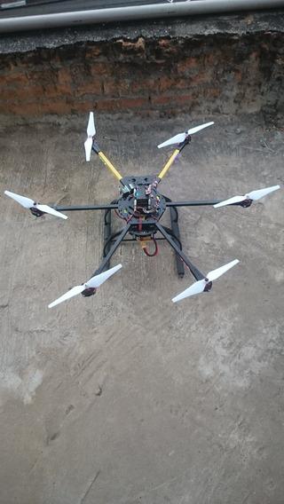 Drone 700 Aluminum X6-guimbal Tarot T2- Troco Por Moto
