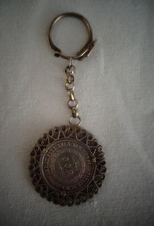 Chaveiro Prata Moeda Brasileira Antiga