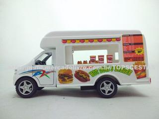 Miniatura Caminhão Camionete Carrinho Food Truck Hot Dog