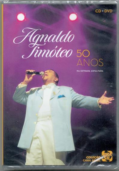 Dvd + Cd Agnaldo Timóteo - 50 Anos Na Estrada Asfaltada -