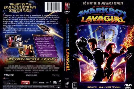 Dvd Lacrado As Aventuras De Sharkboy E Lavagirl