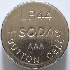 Cartela C/ 50 Peças Bateria Alcalina Lr44 Original Soda