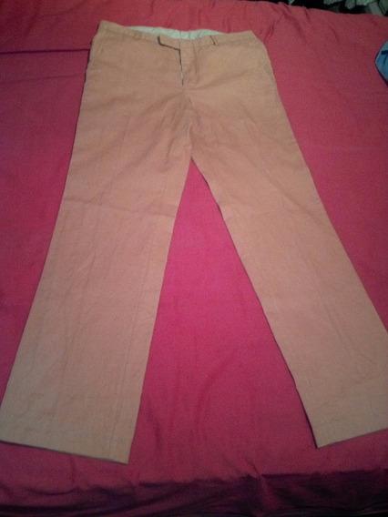 Pantalon De Vestir Color Naranja Marca Grifoni Talle 50