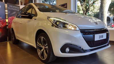 Peugeot 208 Gt Gti 1.6 Thp 165 5 Puertas 0km 2017