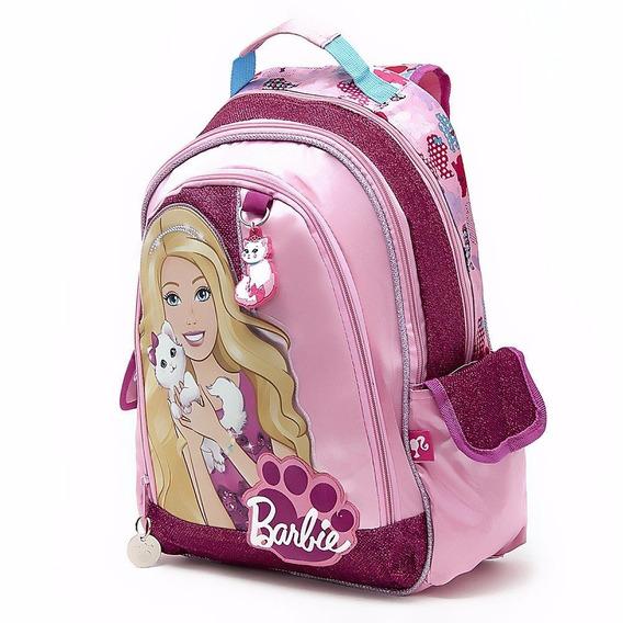 Mochila Espalda Grande Barbie Orig Mattel 16051 Mundo Manias