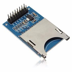 Módulo Sd Card Shield Leitor De Cartão Arduino Pic
