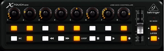 Controlador P/ Dj Behringer X-touch Mini - Tc0044