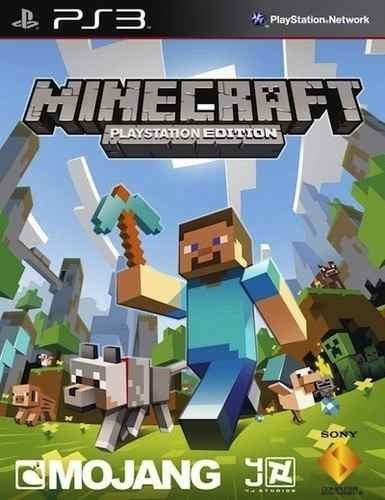 Minecraft Edition Ps3 Psn Midia Digital