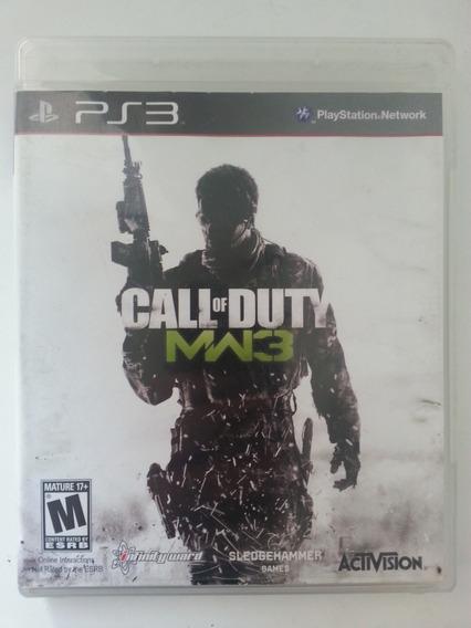 Jogo Call Of Duty Mw3 Ps3. Mídia Física
