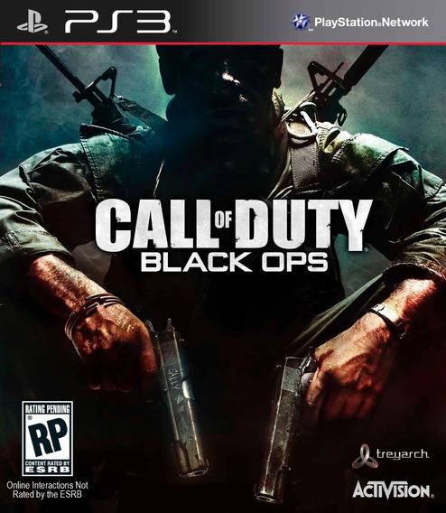 Jogo Ps3 Call Of Duty Black Ops Novo Lacrado E Original