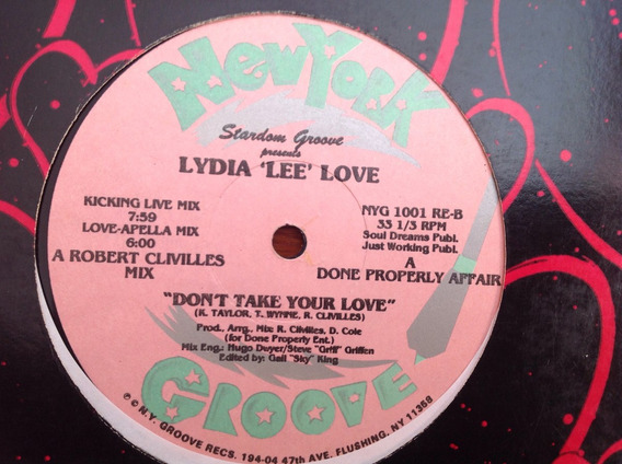 Lydia Lee Love - Dont Take Your Love