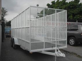 Remolque Jaula Malla Reciclajecamionetas Camiones Pet Ver18