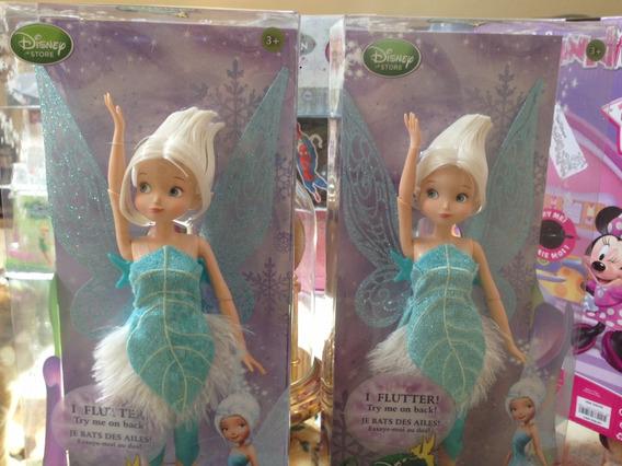 Periwinkle Fada Boneca Disney Store Irmã Da Tinker Bell