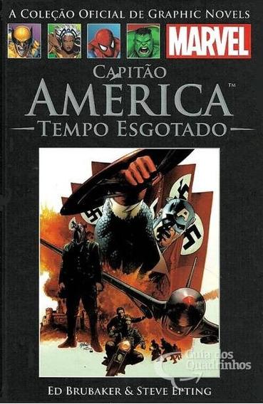 Marvel Salvat 06 - Capitão América - Tempo Esgotado