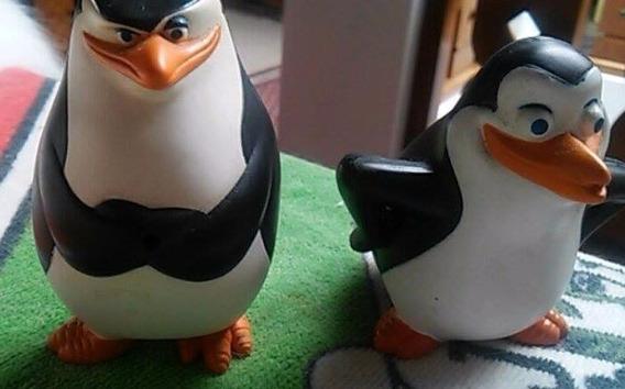 Pinguins Madagascar Mc Donalds-2 Bonecos