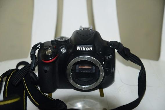 Câmera Nikon D5100 Com Grip+2 Baterias Só Corpo.32 Mil Cliks
