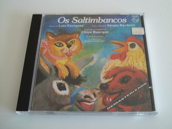 Os Saltimbancos (chico Buarque) - Cd - Ótimo Estado!!!!