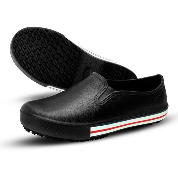 Sapato Ocupacional - Babuch - Tênis Works - Bb 80 - Preto