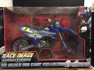 Moto 1/6 Race Image Collectibles Blue Mike Metzger Fmx 250