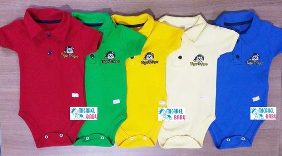 Body Gola Polo Infantil Masculino Kit 3 Peças