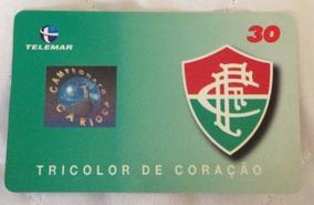 Fluminense - Cartão Telefônico - Campeonato Carioca