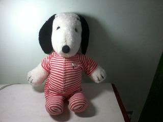 Antigo Boneco Pelucia Snoopy Estrela Anos 80