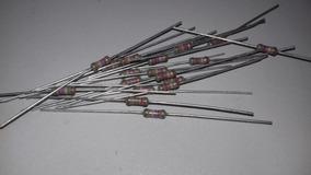 Resistor 127k 1% 1/4 Watt Lote 20 Peças