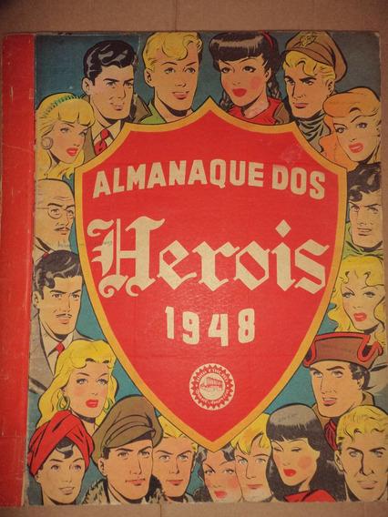 Almanaque Dos Herois 1948 Ebal Frete Gratis Excelente
