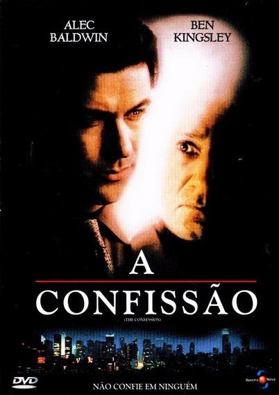 Dvd A Confissão - Alec Baldwin E Ben Kingsley - Novo Lacrado