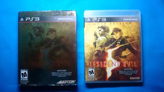 Resident Evil 5 Gold + Luva Gold Playstation 3