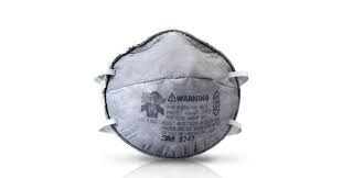 3m Respirador Barbijo 8247 R95 Vapores Organicos Tolima