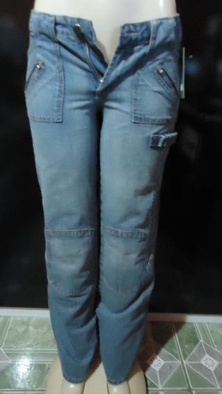 Calça Jeans Feminina Santista Cj - 40 - Frete Grátis 0375