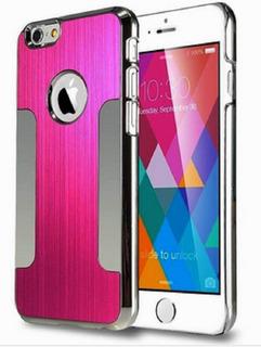 Capa Celular Proteção iPhone 6 Apple Aluminio Rosa Fantastic