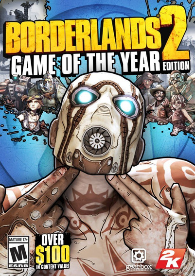Borderlands 2 Game Of The Year Edition ( Mídia Física ) Pc