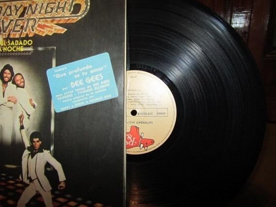 Banda Original Pelicula Fiebre Sabado Por La Noche 1978!!