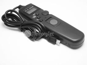 Cabo Disparador Remoto Time Lapse Para Sony A5100 A6500
