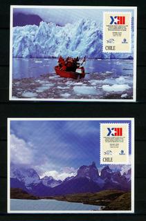 Tarjetas Postales, Porte Pagado, Filatelia Chilena.