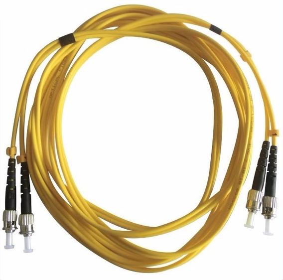 Cdm Cordão Óptico Duplex Multimodo St St Mm 50/125 Amarelo