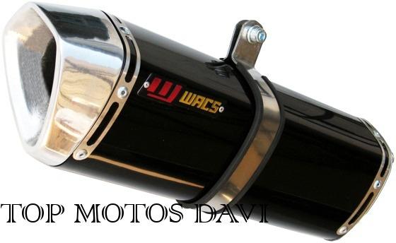 Escapamento Ponteira Wacs W1 P Honda Cbx 250 Twister