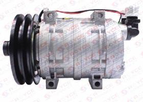 Compressor Tm21 8pk Retroescavadeira Caterpillar 416e Novo