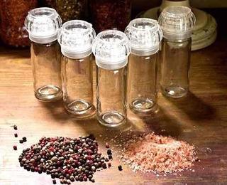 30 Moedores De Sal - Temperos - Pimentas (vazio)